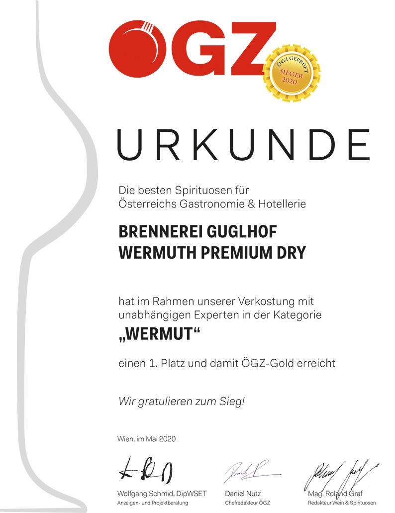 Wermuth Urkunde
